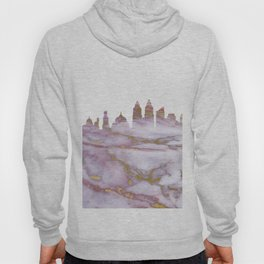 Mumbai India Skyline Hoody