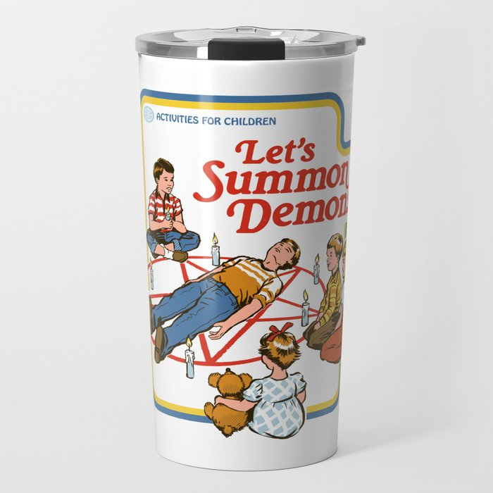 LET'S SUMMON DEMONS Travel Mug