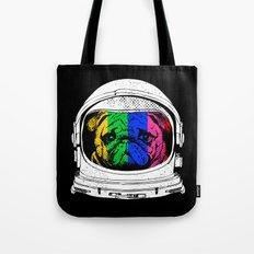 Astronaut Pug Tote Bag