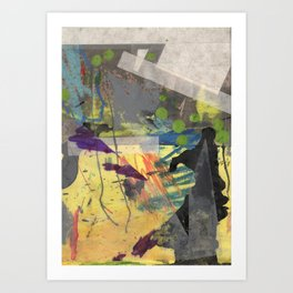 Spikes and Rubble Art Print