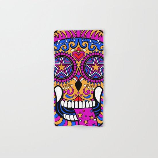 Sugar Skull #1 Hand & Bath Towel