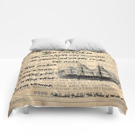 Count of Monte Cristo quote Comforters