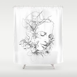 SMELL Shower Curtain
