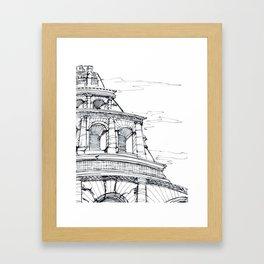 Rome Coloseo Framed Art Print