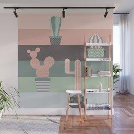 cacti colors Wall Mural