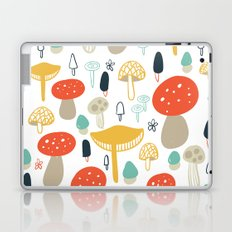 Forest Mushrooms Laptop & iPad Skin