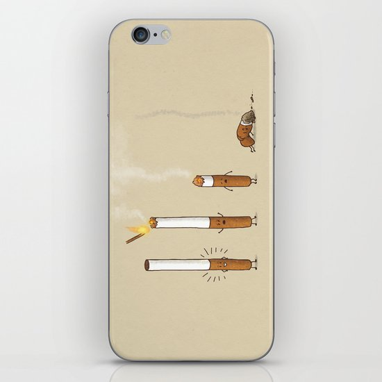 Smoking Kills iPhone & iPod Skin
