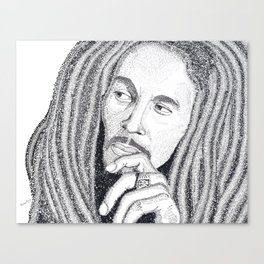 Marley - Word Art Canvas Print