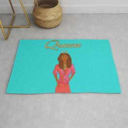 Queen 2 by Kimberly J Graphics Rug