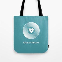 High Fidelity Tote Bag