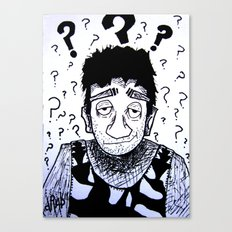 Clueless? Canvas Print