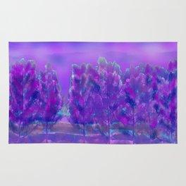 Violet Forest Rug
