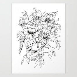 Botanical Bouquet Art Print