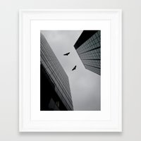 gotham Framed Art Prints featuring Gotham by GS Imagery