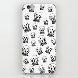 SPECIAL GIFTS for the Goldendoodle Dog lover from Monofaces iPhone Skin