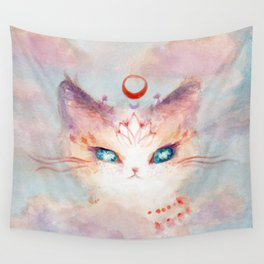 Stargazer Cat : Vision Seeker Wall Tapestry