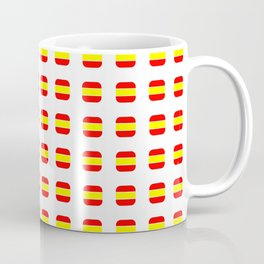 Flag of spain 16 - with soft square Coffee Mug
