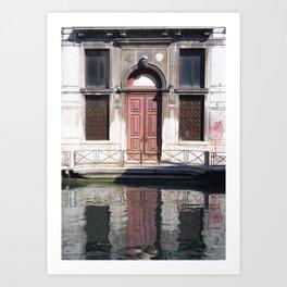 Red Door - Venice Art Print