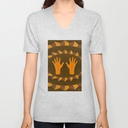 The ASL Marquetry - (ASL Marquetry Series) Unisex V-Neck