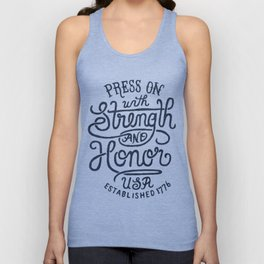 STRENGTH & HONOR Unisex Tank Top