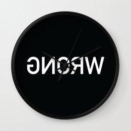 Wrong Wall Clock