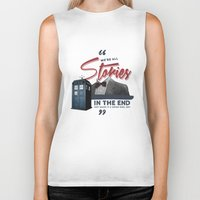doctor who Biker Tanks featuring Doctor Who  by thatfandomshop