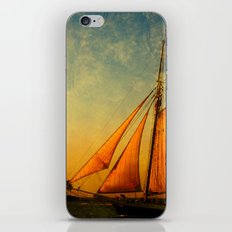 The America in Key West is Leaving for Sunset iPhone Skin