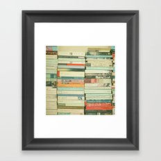Bookworm Framed Art Print