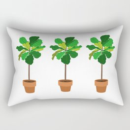 fiddle leaf figs Rectangular Pillow