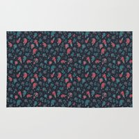 the office Area & Throw Rugs featuring Office plankton by Victoria Sochivko
