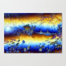 ABSTRACT - My blue heaven Canvas Print