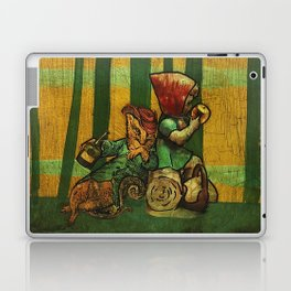 The Fox and the Girl Laptop & iPad Skin