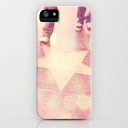 Hollywood Los Angeles photograph. Star Gazing. iPhone Case