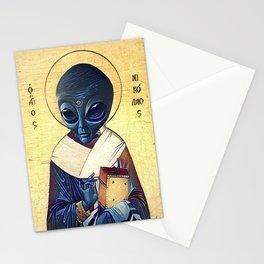 St. Alien Stationery Cards
