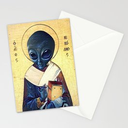 St. Alien Stationery Cards