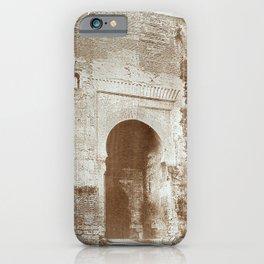 The Alhambra. Puerta de la Justicia iPhone Case