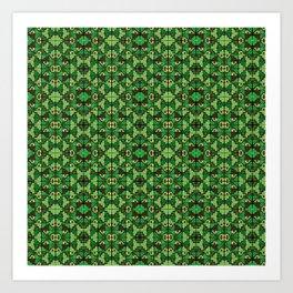 Wari III Pattern Art Print