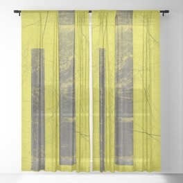 #yellO Sheer Curtain