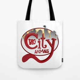 Big City Animals Tote Bag