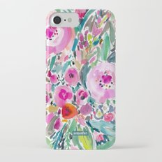 Pink Pow Wow Floral Slim Case iPhone 7