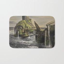 Aztec Island | Concept Environmental Landscape Concept Design Bath Mat