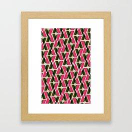 WTU PATTERN PRINT 3 Framed Art Print