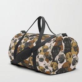 Social Pugs Duffle Bag