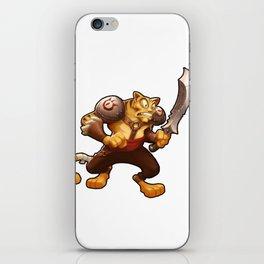 Battle Cat iPhone Skin