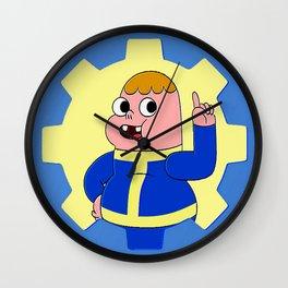 Vault Boy Clarence Wall Clock