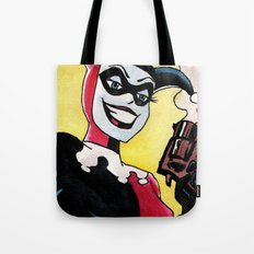 Female Jester Tote Bag