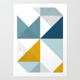Modern Geometric 18 Art Print