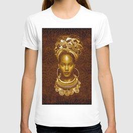 Afrofuturist style T-shirt