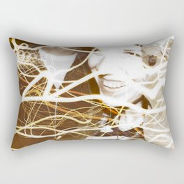 Smiles and Light - Light Painting Rectangular Pillow
