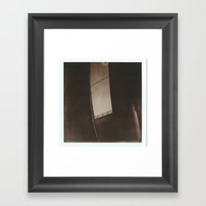 01. Crossroads Framed Art Print